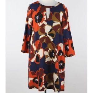Beige by ECI l Floral Retro Dress